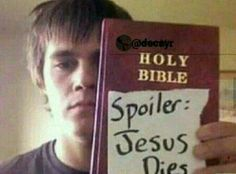 Imagem de jesus, bible, and spoiler Memes Estúpidos, Stupid Funny Memes, Haha Funny, Hilarious, Jokes, Funny Humour, Lila Baby, Xbox 1, Cursed Images