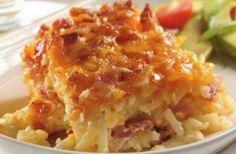 5 Ingredient Potato Bacon Casserole