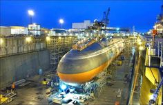 QED Systems Inc. awarded International Flooring a 4 month contract for the installation of 13,800sf of interior tile on the Ohio Class Nuclear Submarine USS Maryland (SSBN-738). This contract was worked in Norfolk Naval Shipyard in 2015. Our production team, led by Leonard McCullough, accomplished another successful project as we cultivate our relationship with new valued client. Photo is the sister strategic missile submarine USS Ohio (SSGN 726) shown at the Puget Sound Naval Shipyard.