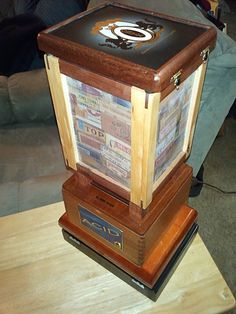 Cigar Box Lamp | Cigar Box Lamp | review | Kaboodle | Upcycled ...