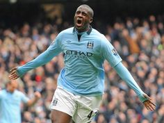 Yaya Toure signs £45m contract to stay at Manchester City - Premier League - Football - The Independent
