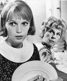 """Mia Farrow and Ruth Gordon in """"Rosemary's Baby"""" (1968)"""
