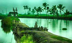 Kadamakudy - Ernakulam,Kerala,India - beautiful island situated near Varapuzha in Edappally