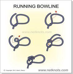 Running Bowline - A slip knot