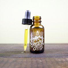 Ozark Elixir Beard Oil by Zane Kaiser for McClaren Woodshop