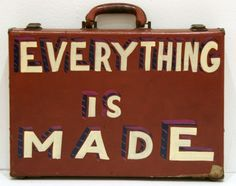 This is by Bob and Roberta Smith. Its a frank statement painted onto a briefcase, and its very true. I like the simplicity and the message. Importance Of Art, Typography Inspiration, Room Inspiration, Protest Art, Workshop Studio, Beautiful Lettering, Poetry Art, Gcse Art, Art Party
