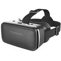 VR Headset Virtual Reality Glasses for TV Movies & Video Games Goggles Compat for sale online Virtual Reality Goggles, Virtual Reality Headset, Vr Games, Video Games, Vr Helmet, 3d Vr Box, Vr Shinecon, Hifi Stereo, Noel