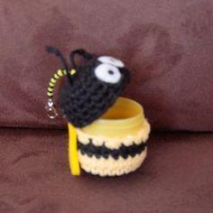 Bastelspaß mit Hasekind: Anleitung - Amigurumi Ü-Ei Biene