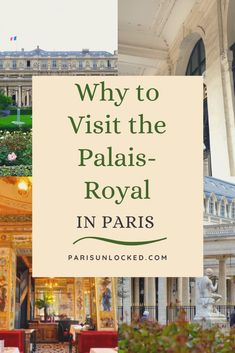 The Palais-Royal is just blocks away from the crowds at the #Louvre, but it offers an elegant haven of green paths and gardens, fantastic #boutiques and #shopping, #architecture, #sculptures, and world-class #restaurants. It's also full of interesting #history. Here's how to enjoy it to the fullest. #palaisroyal #Paris #France #amazingdestinations #frencharchitecture #travel #traveltips #parisguide #travelideas #traveltheworld #French #luxuryshops #gardens