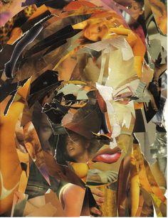 fantomas1 - Self portrait collage ~ on deviantART