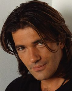 Antonio Banderas. Another guy with great long locks!!!