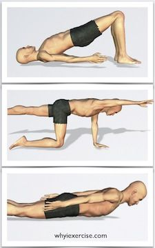 back strengthening exercises: support your spine and have a total body impact....I have back problems and strengthening your back muscles can help a lot with the pain.