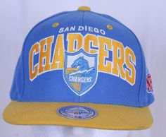 27f3009d61309 San Diego Chargers Adjustable Snapback Ball Cap Trucker Hat Tags NFL Vintage  Col
