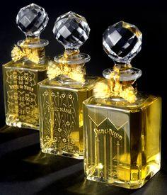 Baccarat bottles