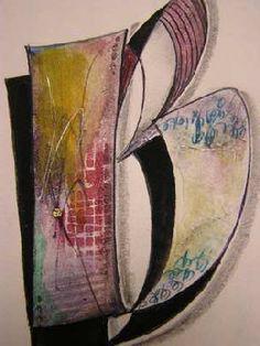 PHotos from a Barbara Close Textured Versals class