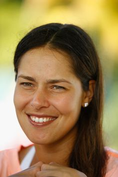 Ana Ivanovic Photos Photos - Ana Ivanovic of Serbia speaks to the media during Day 2 of the Miami Open at the Crandon Park Tennis Center on March 2015 in Key Biscayne, Florida. Crandon Park, Tennis Center, Ana Ivanovic, Key Biscayne, Tennis Players, Most Beautiful Women, Miami, Day, Photos