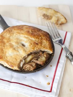 pork, apple and cider pie