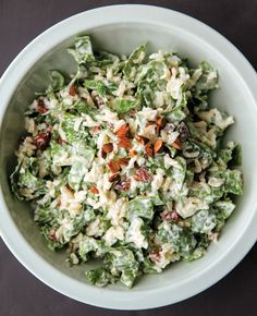 Brown Basmati Rice and Spinach Salad. For more wholegrain recipes, see the March 2013 issue of Women's Health.
