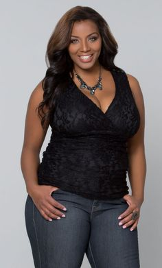 Plus Size Sweet Meringue Lace Tank  www.curvaliciousclothes.com TAKE 15% OFF Use code: TAKE15 at checkout