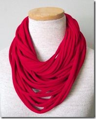 scarf from tshirts