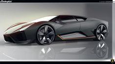Project made in SPD in collaboration with Lamborghini Centro Stile.