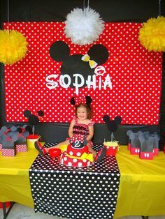 17 ideas for party birthday red minnie mouse