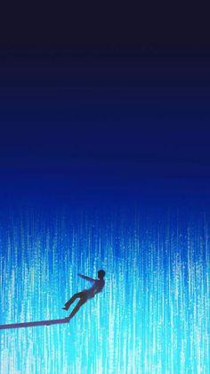 Verses Wallpaper, Anime Wallpaper Live, Galaxy Wallpaper, Bts Wallpaper, Aesthetic Room Decor, Blue Aesthetic, Aesthetic Iphone Wallpaper, Aesthetic Wallpapers, Shadow Painting