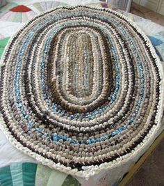 How to Make an Old-Fashioned Rag Rug  http://www.cappersfarmer.com/do-it-yourself-projects/sewing-and-quilting/how-to-make-an-old-fashioned-rag-rug.aspx