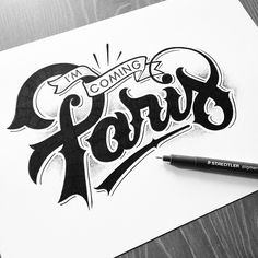 Great letter forms and stipple effect. Type by @jeremy_schiavo| #typegang if you would like to be featured | typegang.com by type.gang