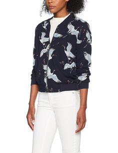 ONLY Women's Onlcran Flower L/S Bomber Wvn Jacket: Amazon.co.uk: Clothing