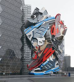 Sneaker Tectonics in Nike Ads: Super Creative Designs