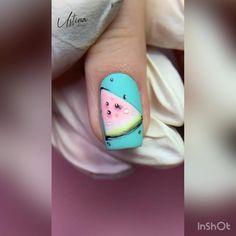 Nail Art Hacks, Gel Nail Art, Gel Nails, Acrylic Nails, Manicure, Pretty Nail Art, Cute Nail Art, Beautiful Nail Art, Nail Art Designs Videos