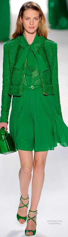 Elie Saab 2012 - green couture