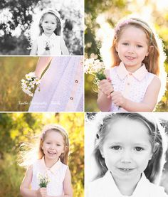 Xanthe Photography { for life }: Love and light - North Brisbane Family Photography - Outdoor Session - Little Girl - Daisies