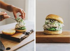 GRILLED HALIBUT SANDWICHES WITH JALAPENO SLAW — Sprouted Kitchen