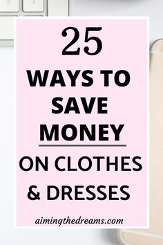 Nov 6, 2019 - Go shopping but use these tips to save money on clothes and dresses this season. It is necessary to keep a clothing budget and stick to it to save money.