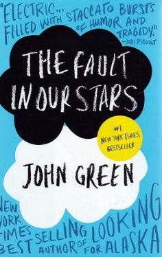 """John Green - """"The Fault in our Stars""""  - according to my teenage daughter this is one of the best books ever written! She thinks, he's about the only one who understands her way of thinking .... will HAVE to read it but she's re-reading for like the seventh time ....."""