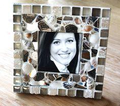 Sea & Earth Custom Mosaic Frame
