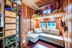 Tiny House with a lot of Storage Space