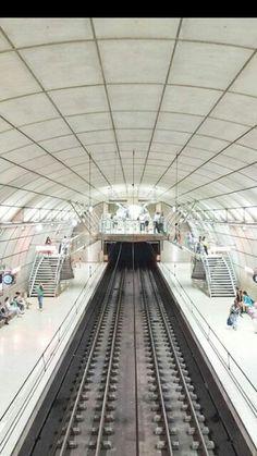 Simetría,metro de Bilbao.