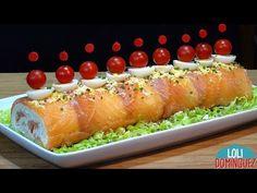 Tapas, Brunch, Spanish Cuisine, Canapes, Thanksgiving Recipes, Baked Potato, Salmon, Healthy Recipes, Eat