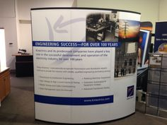TRADE SHOW DISPLAY STAGING-NOMADIC MERCURY WITH BACKWALL PANELS