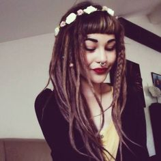 #dreads this is how I hope my hair will look in about a year