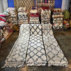 Beautiful handmade Moroccan Beni ourain rugs  @kechmaradesigns
