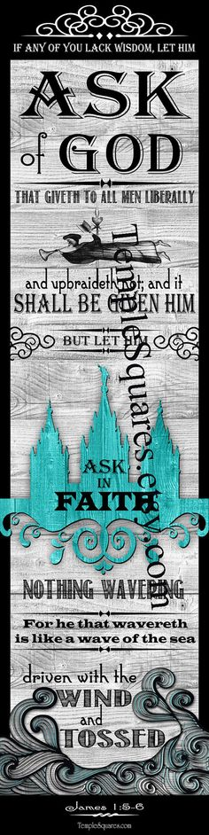 PRINTABLES Bookmarks LDS YW Young Women 2017 Mutual Theme Ask of God Ask in Faith Purchase includes: -Five Large 2x8 Bookmarks on an 8-1/2x11 page size digital file. 5 Bookmarks per page -Eight Medium 1-1/2x6 Bookmarks on an 8-1/2x11 page size digital file. 7 Bookmarks per page Fun DIY craft,activity or gifts, decorate with ribbons, beads or tassels. Use for incentive gift, YW Birthday Gifts, Handouts, New Beginnings, Young Women in Excellence YWIE, Personal Progress, Girls Camp or…
