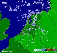 Bekijk en deel ook het laatste radarbeeld van Buienradar