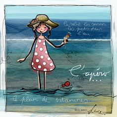 """MYRA & les couleurs ...: mon amie """"LUCE"""" Image Positive, Electronic Cards, Travel Doodles, Happy Jar, Mom Quotes From Daughter, Good Morning Images Hd, Watercolor Cards, Illustrations, Photo Illustration"""