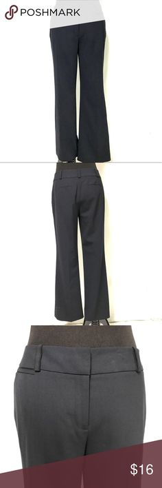 Ann Taylor navy blue petite trousers Medium weight, petite, straight leg ann Taylor Pants Trousers