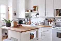 Ikea kitchen and cabinets to go kitchen cabinets apartment therapy Cabinets To Go, Ikea Kitchen Cabinets, Kitchen Cabinet Doors, Kitchen Dining, Kitchen Decor, Pantry Cabinets, Kitchen 2016, Rustic Kitchen, Kitchen Ideas
