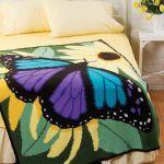 Kelebek Desenli Battaniye Yapılışı 1